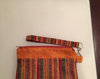 Beautiful Multicolor Wristlet