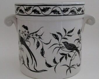 Portuguese Porcelain Cachepot