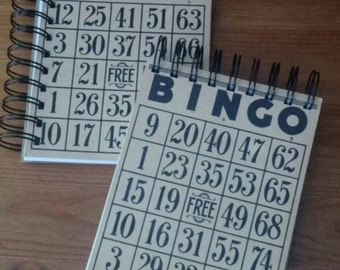 Bingo Card blank journal