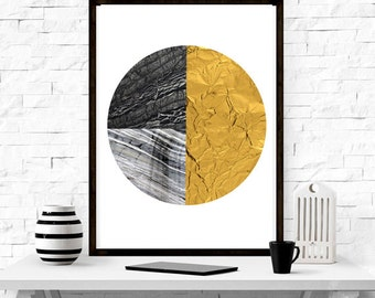 Circle, geometric design, modern design, home decor , wall art