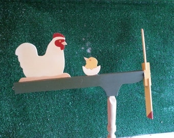 Hen and Chick Whirligig