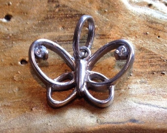 Delicate Butterfly Pendant