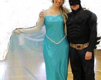 Elsa dress adult costume
