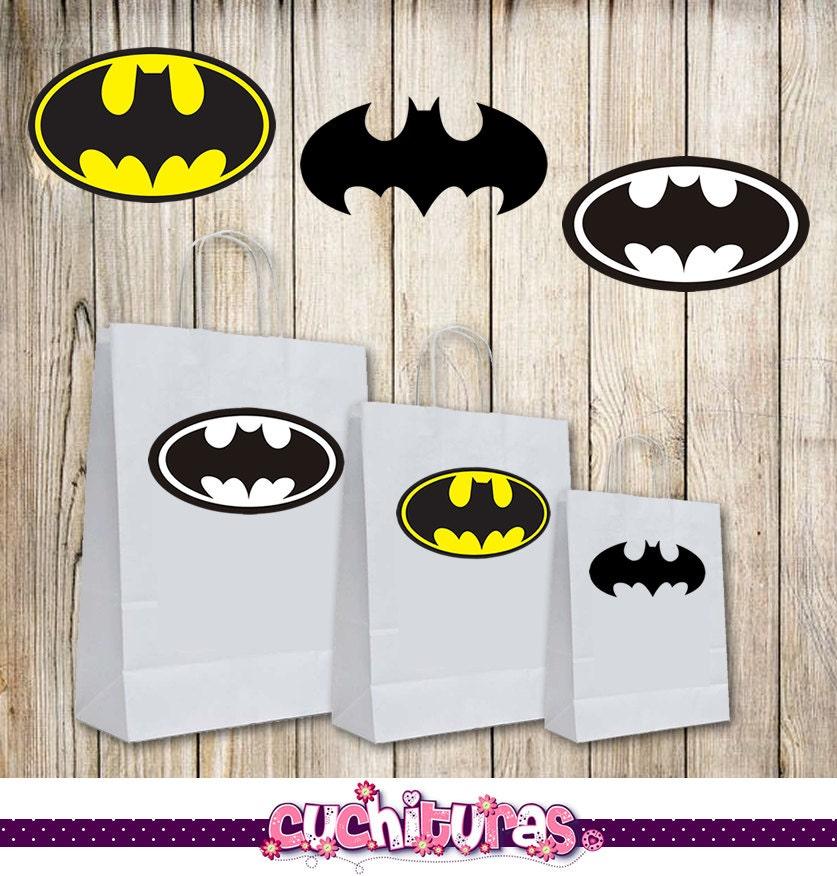 Batman Logo Party Favors, Batman Birthday Party, Batman Birthday ...