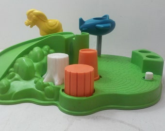 Fisher Price Vintage Little People Playground Only #2525
