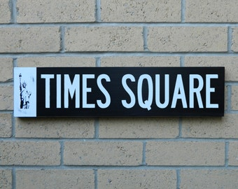 New York City street sign - Times Square