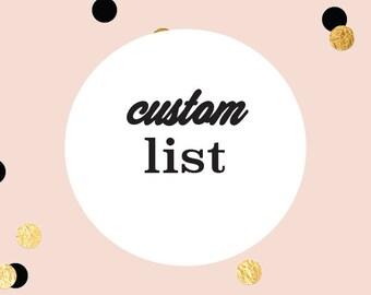 Custom list