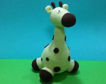 Jirafa en crochet-Crochet giraffe-giraffe crochet-Girafe