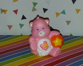 Vintage 1980s PVC Care Bear Baby Hugs