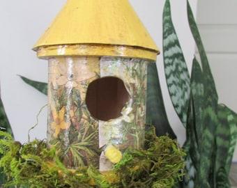 Unique Handmade Birdhouse