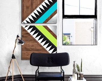 wood metal wall panel