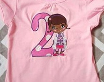 Doc McStuffins Embroidered Shirt