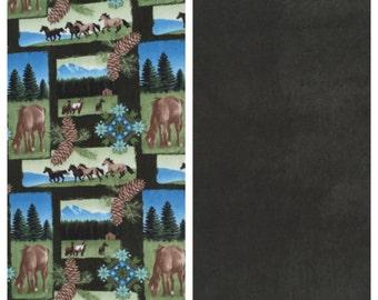 Fleece Kid's Horse Blanket(K126)