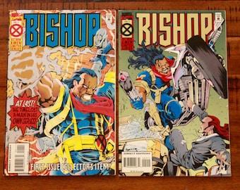 1994 Bishop #1 and #2 Comic Books/ Marvel Comics/ X-Men Limited Series