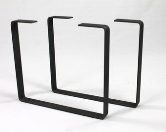 Set of 2 Steel Legs, Coffee Table Legs, Industrial Table Legs, Bench Legs, Sofa Table