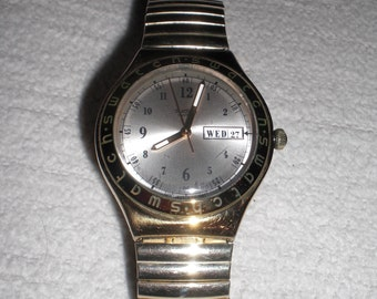 Swatch irony watch quartz watch 1997
