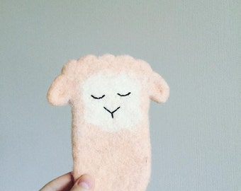 Felted IPhone 6 or IPhone 5 cover