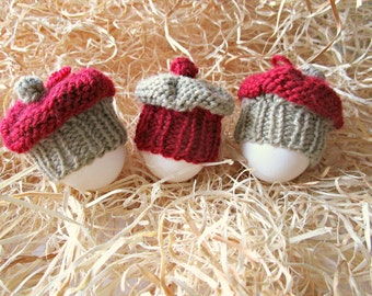 Knit easter egg cosy easter table decor easter egg hat egg easter egg hats cake egg cozy egg warmer knit easter egg cosy knit cake cupcakes breakfast negle Gallery