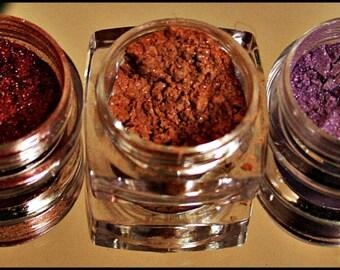 Mineral Eye Shadow~Eye Makeup~Shimmer Eye Shadow~Mineral Makeup~Natural Eye Shadow~Sparkling Eye Shadow~Eyelid Makeup~Cosmetic~Eyes~
