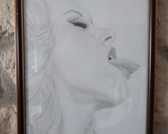 "Bree Olson portrait, ""Submission"""