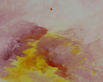 morning walk, oil painting