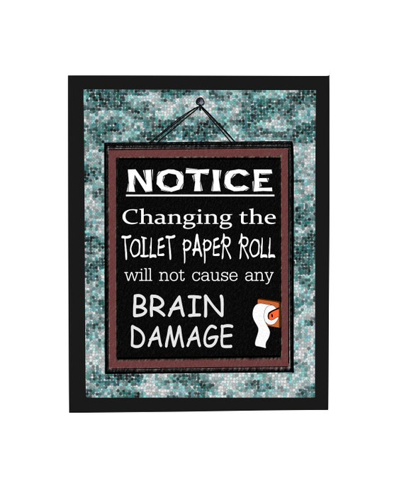 Items similar to funny quotes bathroom wall decor for Fun sayings for dining room wall art