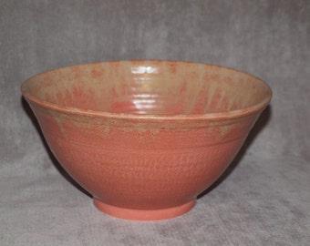 Wheel Thrown Functional Pottery Bowl