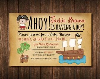 Pirate Baby Shower Etsy