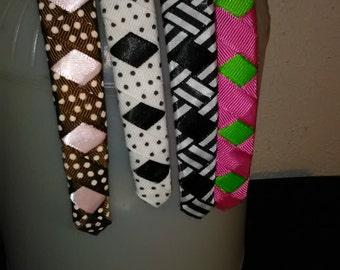 18.  Four (4) Handmade Headbands