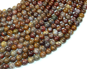 Pietersite Beads, Approx 5.5 mm, 16 Inch, Full strand, Approx 72 beads, Hole 0.6 mm, A quality (346054006)