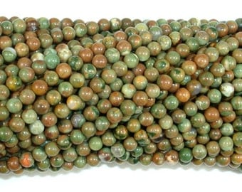 Rhyolite Beads, 3mm Round Beads, 16 Inch, Full strand, Approx 127 Beads, Hole 0.4 mm, A quality (387054011)