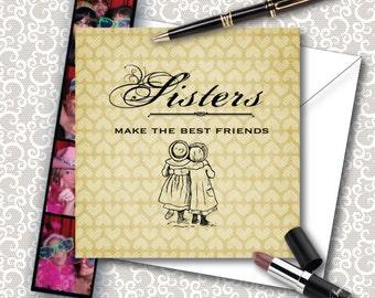 Sisters Make the Best Friends Card - JW Greetings