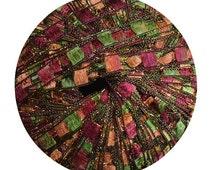 Berlini East Track II Ladder Yarn #113 Fall Herbs w/ Metallic Sparkle, Trellis Ladder yarn, trellis yarn, ribbon yarn, ladder yarn (602)
