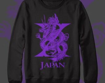 X Japan Crew Neck Sweater