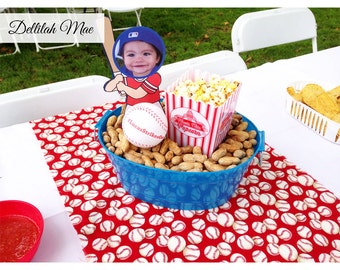Baseball Centerpiece Cut Out | Baseball Birthday Party | Baseball Party | Digital File | Print & Ship Available | Boys | Customized | DIY |