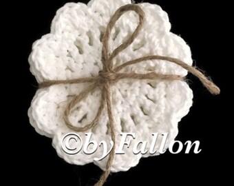 Crochet Farmhouse Style Coasters