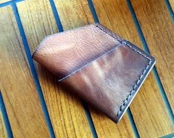 40% OFF SALE! Minimalist leather cardholder wallet