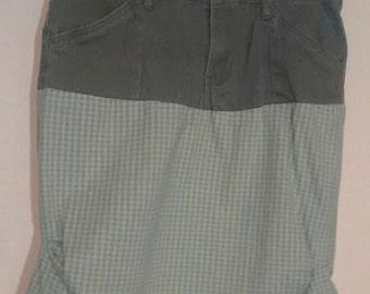 Mock Pencil Skirt