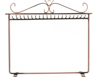 New Delicate Necklace Jewelry Display Stand Rack Holder Bronze T-011....Free Shipping in US!