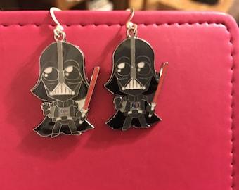 Star Wars Darth Vader Earrings