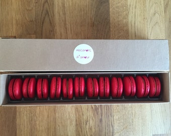 Salted Caramel macarons (box of 12) FREE P&P!