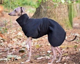 Double Layer Fleece Coat for Italian Greyhounds