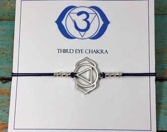 Third Eye Chakra | Chakra Bracelet | Third Eye Chakra Bracelet | Seven Chakras | Spiritual Bracelet | Yoga Bracelet