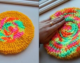 Crochet Slouch Beret