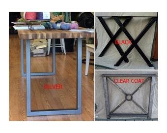 25 29 Steel Tube Table Legs Custom Table Legs Steel