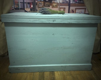 Antique Supersize Chest, Painted, Local Alexandria VA Pick Up Only