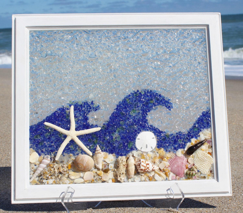 Sea Glass Art Window Best Modern Beach Glass ArtBest Selling