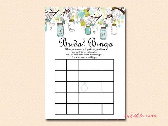 how to play wedding bingo