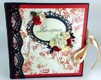 """Scrapbook """"Happy Valentine's Day"""" Photo Album"""