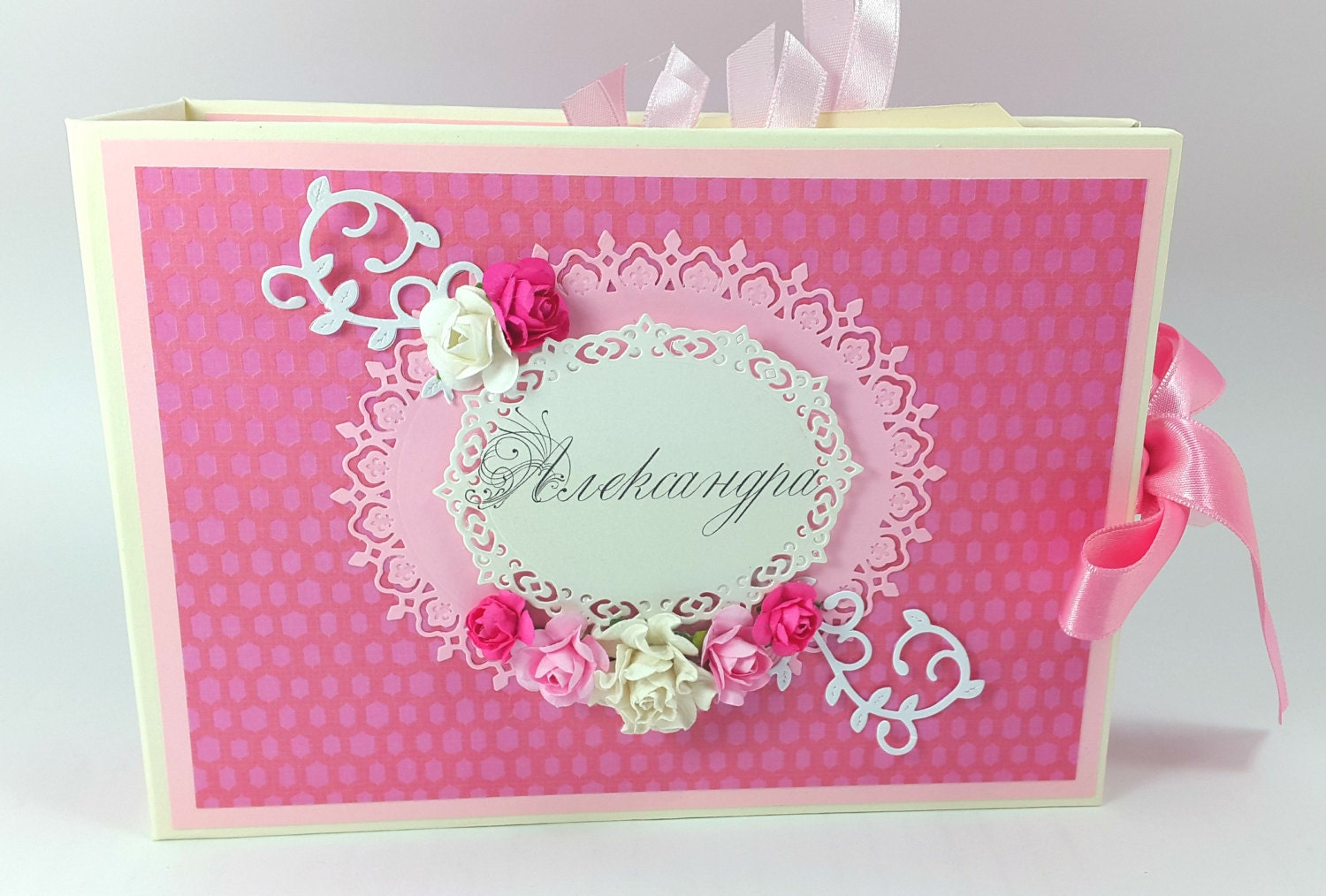 How to scrapbook baby book - Sold By Kastilohandmade